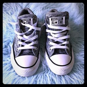 Gorgeous silver gray all star converse